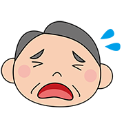 吉田さん,iPad,泣く